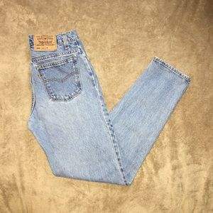 Vintage Levi's 950 high waisted mom jeans